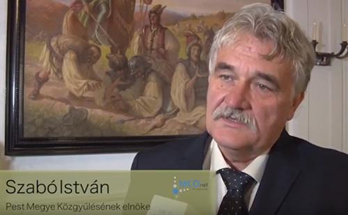 Szabó István Pest Megye Közgyűlésének elnöke