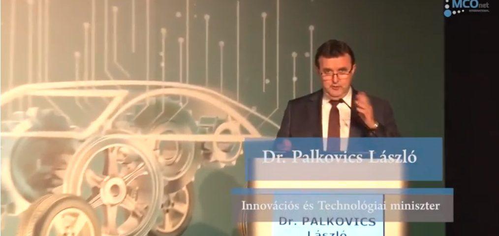 Dr. Palkovics László megnyitó beszéde