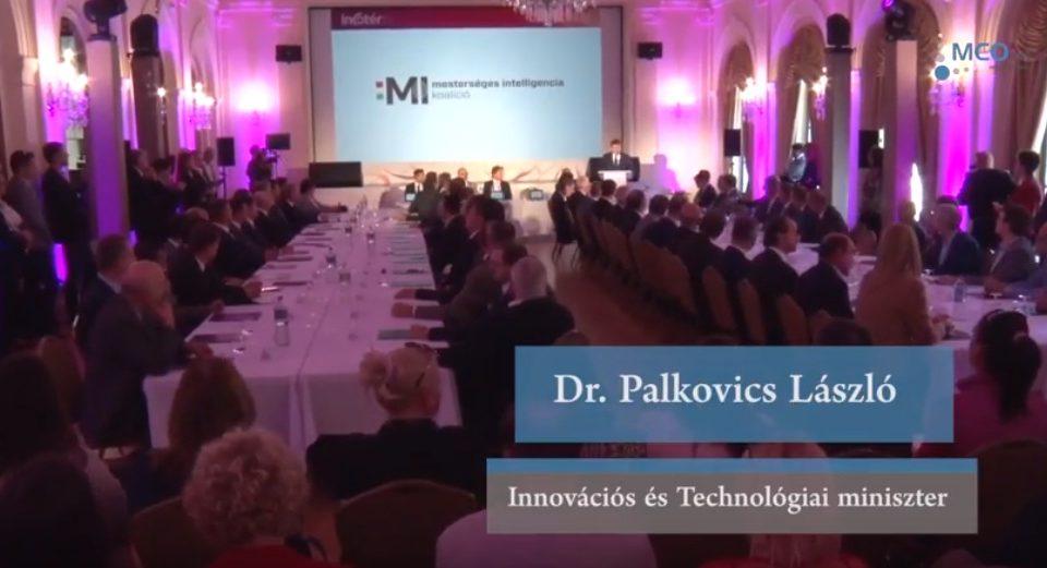 Mesterséges Intelligencia Koalíció - Dr. Palkovics László