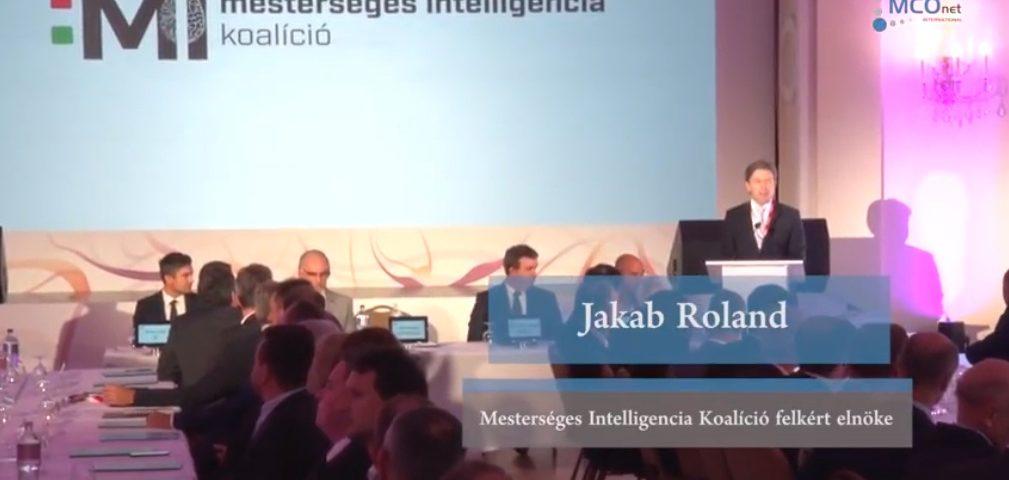 Mesterséges Intelligencia Koalíció - Jakab Roland